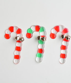 Melted Bead Candy Canes | Candy Cane Bead Ornaments