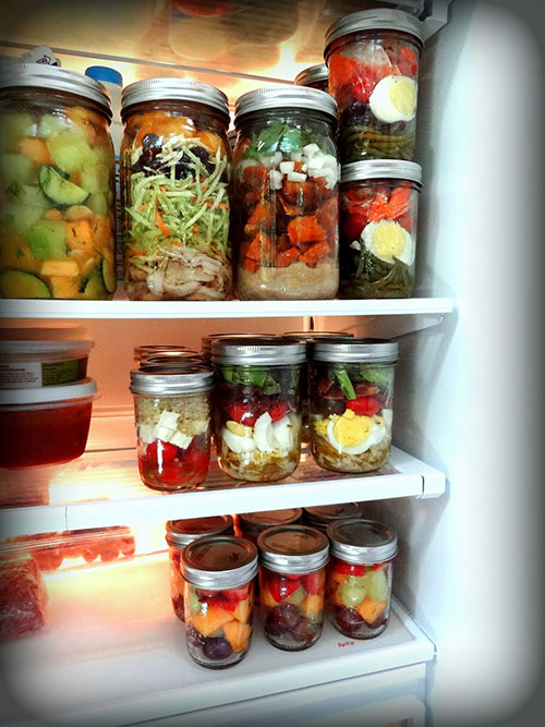 How To Store Food In Mason Jars No Plastic