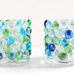 Glass Bead Candle Holders