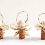 How to Make Wine Cork Angels
