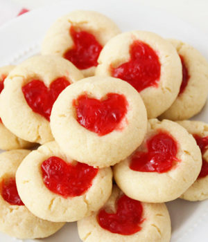 Gummy Bear Heart Cookies Recipe