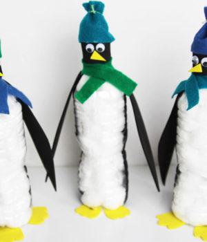Water Bottle Penguins