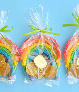Rainbow Licorice Treat Bags