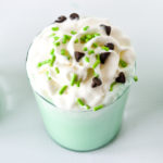 A yummy treat for St. Patrick's Day, this shamrock shake recipe is so easy to make at home!