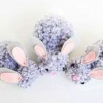 How To Make Pom Pom Bunnies