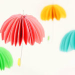 How to Make Paper Umbrellas