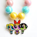 Shrinky Dinks Powerpuff Girls Jewelry