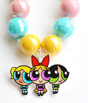 Shrinky Dinks Powerpuff Girls Jewelry