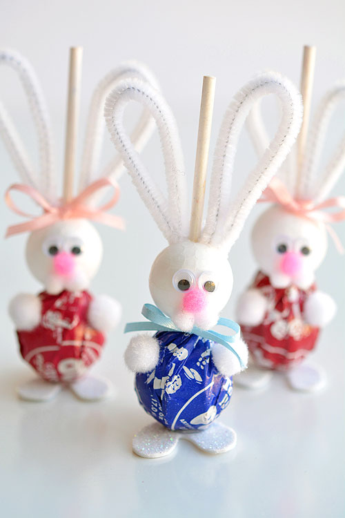 Lolly Pop Bunnies Easter Bunny Lolly Pops