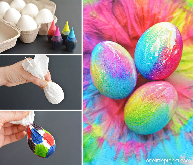 These Tie Dye Easter Eggs Are So Fun And They Re Simple To Make