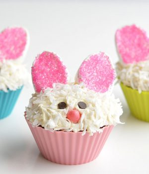 How to Decorate Easter Bunny Cupcakes