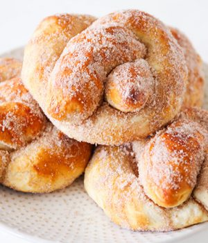 Cinnamon Sugar Soft Pretzels Recipe