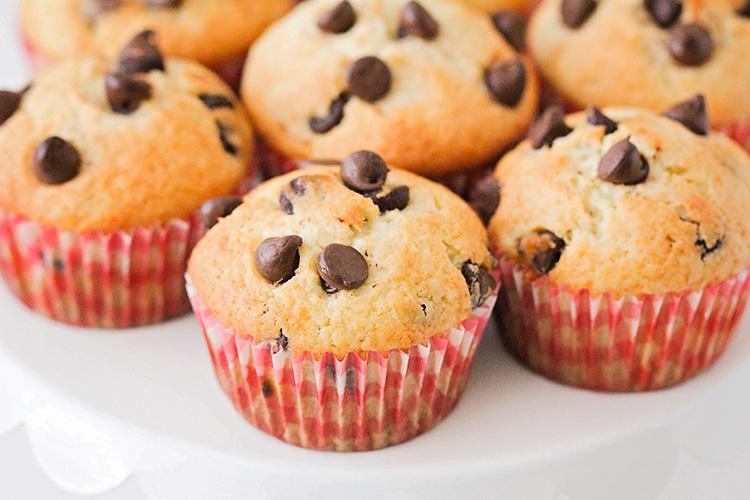 Banana chocolate chip muffins recipe uk