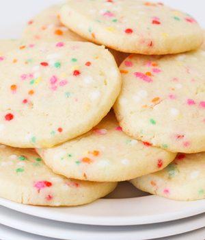 Sprinkle Sugar Cookies – Slice and Bake