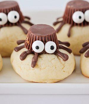 Sugar Cookie Spiders