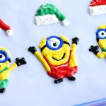 Holiday Minion Window Clings inspired by Despicable Me 3