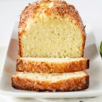 Coconut Lime Pound Cake