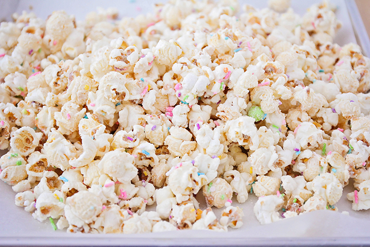 Terrific Birthday Cake Popcorn One Little Project Funny Birthday Cards Online Fluifree Goldxyz