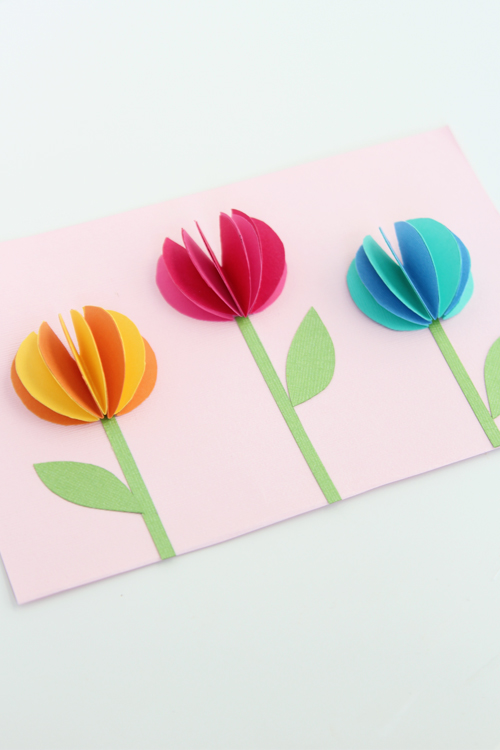3d paper flowers one little project these 3d paper flowers are so adorable and would be perfect for a handmade mothers day mightylinksfo