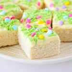 Spring Sugar Cookie Bars