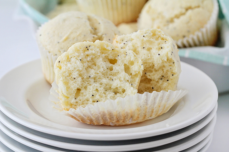 These light and fluffy almond poppy seed muffins are so incredibly delicious, and easy to make too! They're perfect for breakfast or brunch, and snacking any time!