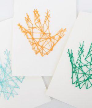 Handprint String Art