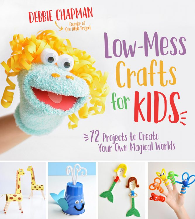 Low-Mess Crafts for Kids Book