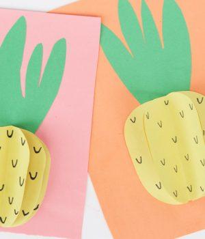 Paper Pineapples