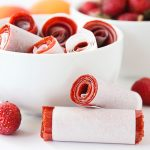 Strawberry Apricot Fruit Leather