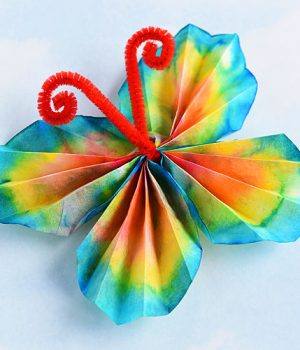 Classic Coffee Filter Butterflies