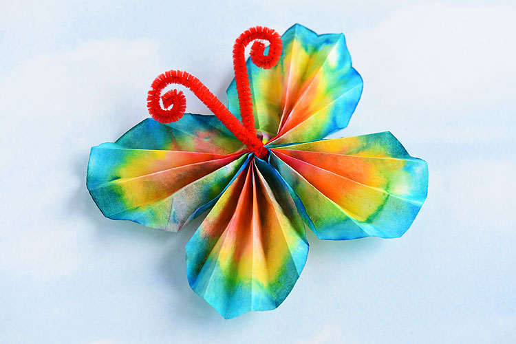 Coffee Filter Butterflies The Classic Craft Using Washable