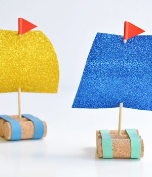 Easy Cork Sail Boats