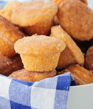 Cinnamon Sugar Mini Muffins