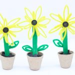 Pipe Cleaner Sunflowers