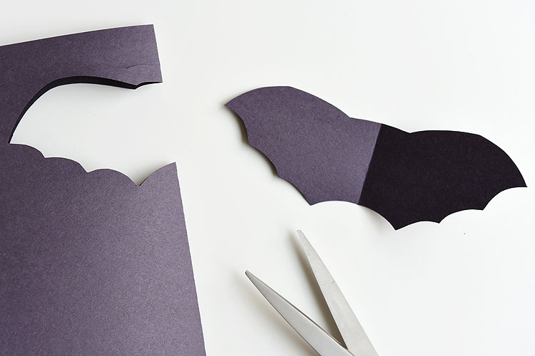 wooden spoon bat craft for halloween one little project