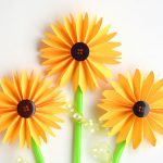 How to Make Folded Paper Sunflowers