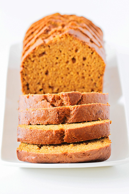 This soft and tender pumpkin bread has the most delicious pumpkin spice flavor, and is the perfect treat for a crisp fall day!