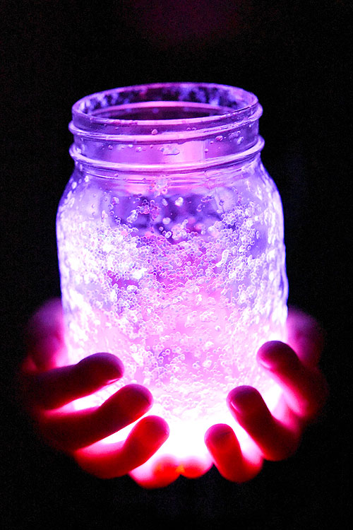Apologise, but, Fairy mason jars with glow sticks with