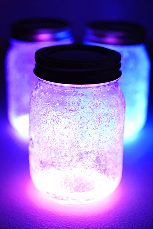 Fairies In A Jar Diy Glow Stick Fairy Jar Tutorial