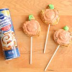 Cinnamon Roll Pumpkin Pops are Deliciously Easy and FUN