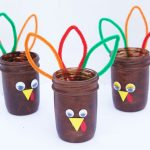 Mason Jar Turkeys