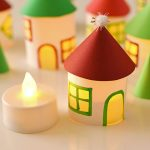 Twinkling Paper Roll Christmas Village