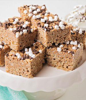 Hot Cocoa Rice Krispie Treats – So Yummy!