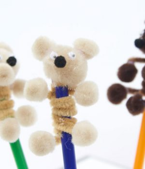 Pipe Cleaner Teddy Bears