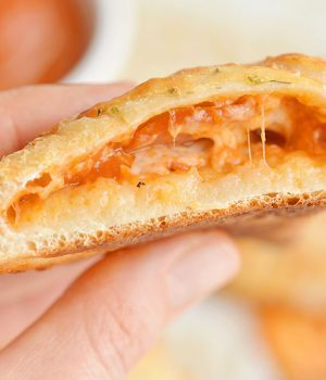 Easy Cheesy Homemade Pizza Pockets