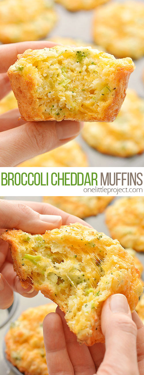 These broccoli cheddar muffins are SO GOOD and so simple to make! Loaded with healthy ingredients they're really filling, and so delicious! Eat these healthy muffins for lunch with your favouite soup, or on their own as an afternoon snack or even a filling breakfast on the go. With hidden broccoli and lots of cheese they're great for picky eaters and toddlers too!