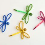 How to Make Beaded Pipe Cleaner Dragonflies