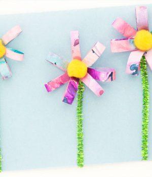 3D Watercolor Flowers