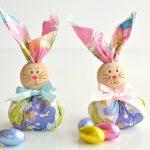 Paper Napkin Bunny Favors