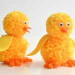 How to Make Pom Pom Chicks
